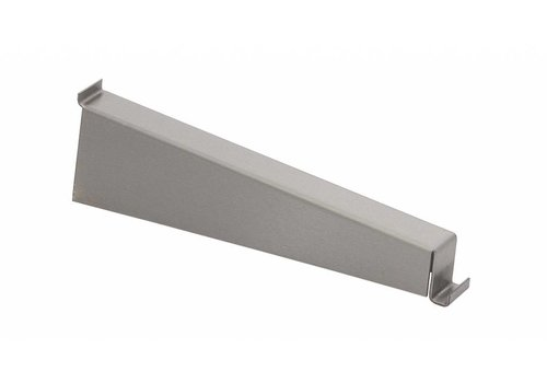 HorecaTraders Shelf holder stainless steel | 2 formats