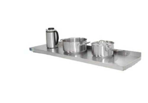 HorecaTraders Stainless Steel Wandschap | 9 Formats