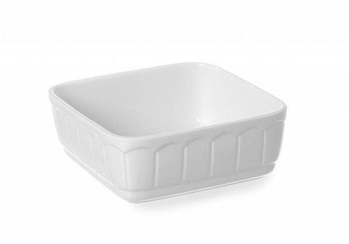 Hendi Porcelain White baking dish 16,5x16,5 cm