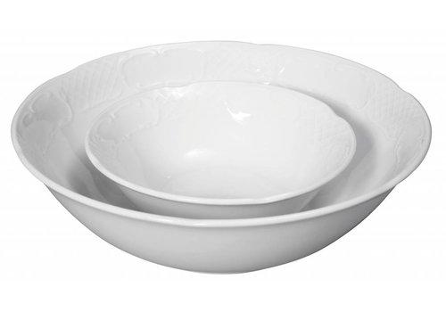 Hendi Hotel Weißes Porzellan Salatschüssel | 14x4,5 cm (6 Einheiten)