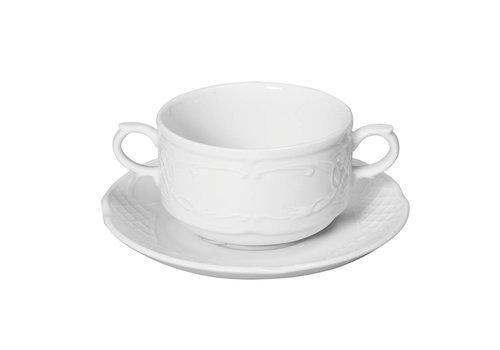 Hendi White Porcelain Dishes 15.8x20 cm (6 pieces)