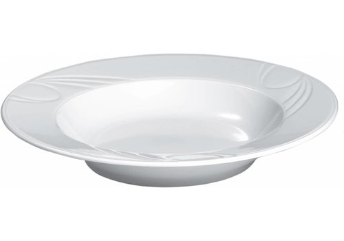 Hendi Hendi Plate Deep Porcelain | 30cm (6 pieces)