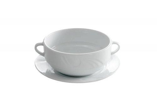 Hendi Hendi Dish Für Suppenschüssel Porzellan | 18cm (6 Stück)
