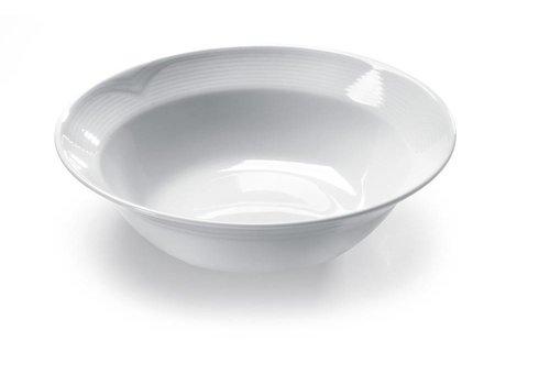 Hendi Hendi Salatschüssel Porzellan Weiß | 25 cm (6 Einheiten)