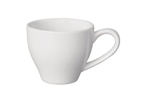 Olympia Weißes Porzellan Espressotassen 12 cl (12 Stück)