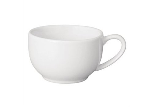 Olympia Coffee Cups White Porcelain (12 pieces)