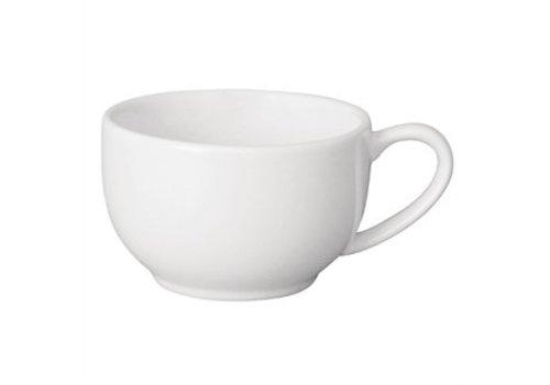 Olympia Koffie Koppen Wit Porselein (12 stuks)