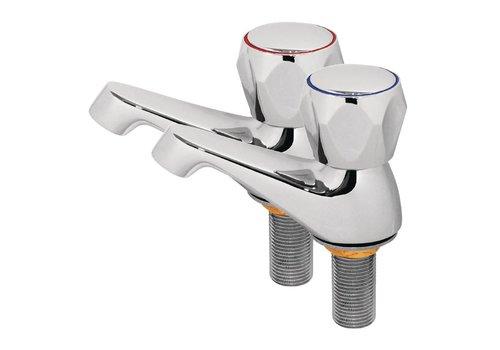 HorecaTraders Faucets Hot / Cold (2 pieces)