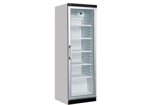 HorecaTraders Kühlschrank mit Glastür (rechts angeschlagen)