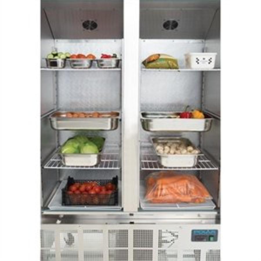 Hospitality Refrigerator   Stainless steel   2-door   1200L
