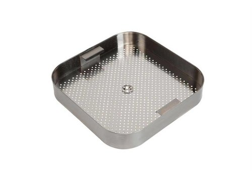 HorecaTraders Stainless steel Insert baskets for Sinks | 3 formats
