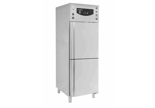 Combisteel Inox Horeca Refrigerator and Freezer - 474 Liter - Forced cooling