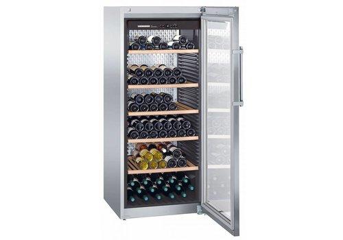 Liebherr WKes4552 | Wijnklimaatkast RVS 201 Flessen | Liebherr