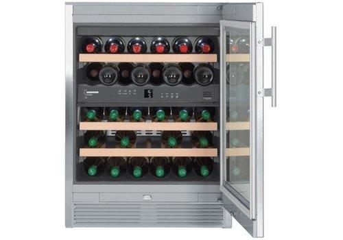 Liebherr WTes1672-20 | Wijnklimaatkast RVS 34 Flessen | Liebherr