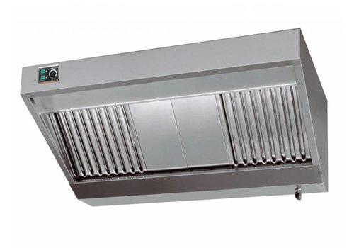 Combisteel Professionele Afzuiger met Motor RVS  280x110x45cm
