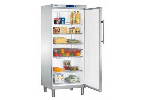 Liebherr GKv 5790 Edelstahlkühlschrank auf Beinen | 437 L