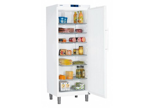 Liebherr GKv 6410 White Fridge with legs 499 L