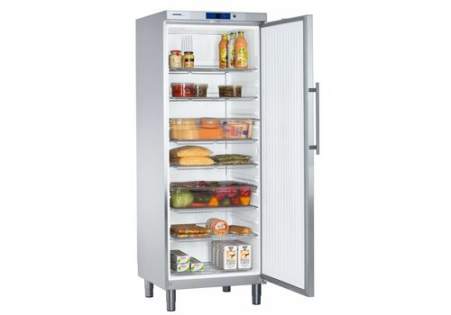 Liebherr GKv 6460 Edelstahl Kühlschrank mit Beinen 499 L