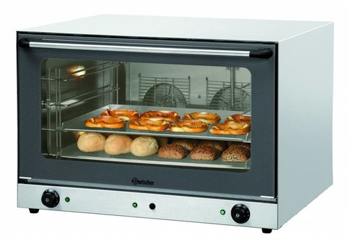 Bartscher Bakery Afbakoven with Fluid Injection