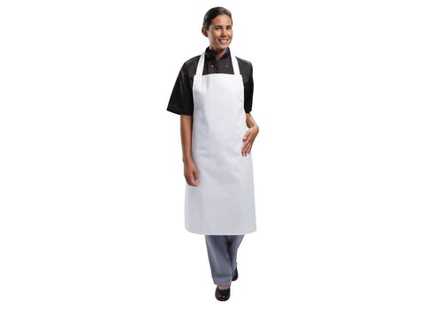 Chef Works Apron White Professional Series