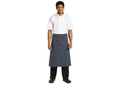 Chef Works Sloof Blauw/Wit -KLASSIEKER