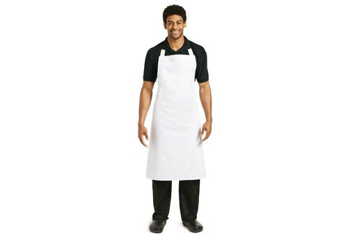 Chef Works Kitchen Aprons White Professional Series