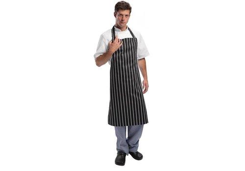 Chef Works Schürze Schwarz / Weiß Professional Series
