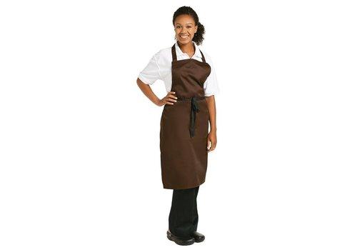 Chef Works Schürze | Schokolade