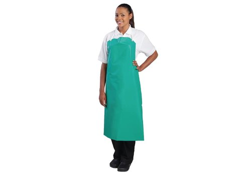 Chef Works Water-resistant Apron Green