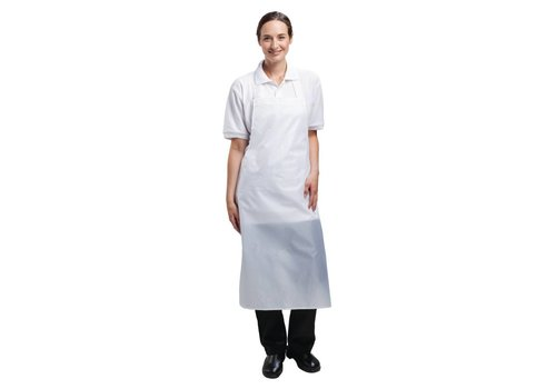 Chef Works Waterproof Kitchen Apron White