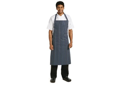 Chef Works Kitchen Apron Navy Blue (EXTRA LANG)
