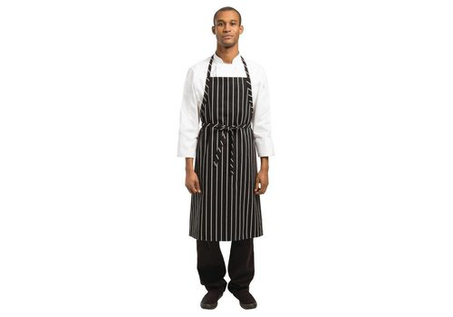 Chef Works Aprons Catering Black / White