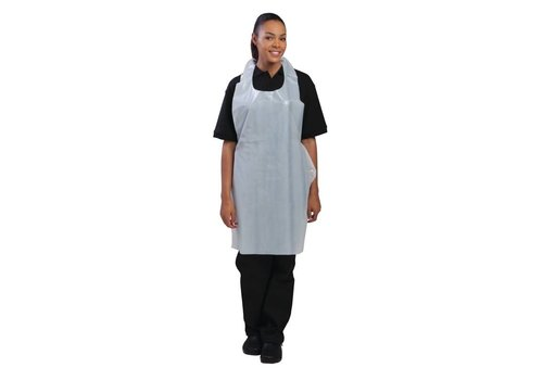 Chef Works Disposable Aprons White (100 pieces)