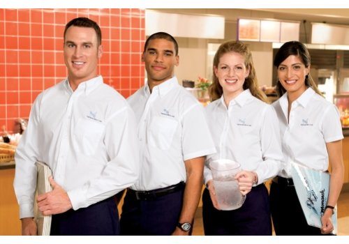 HorecaTraders Borduurservice Cooks Serve Apparel Clothing