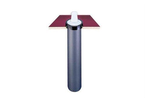San Jamar Eingebauter Becherspender aus Kunststoff (7 Größen)