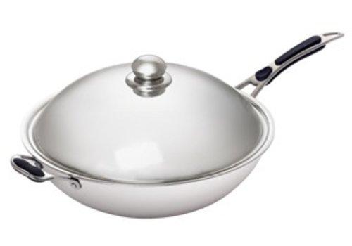 Bartscher Professional Wok pan | 36 cm Ø