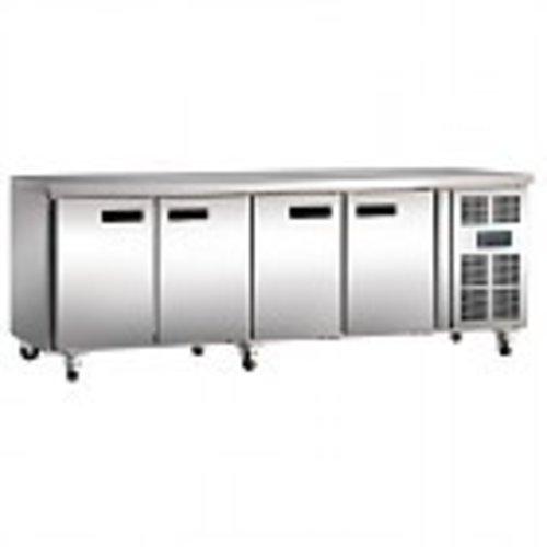 Kühltische mit 4 Türen