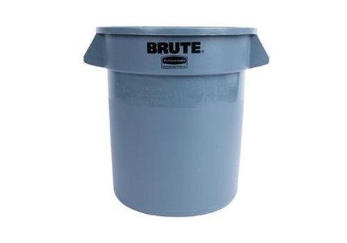 Rubbermaid Runder Abfallbehälter Grau | 3 Abmessungen