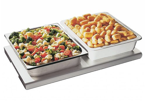 APS Hot plate 53x32,5cm Aluminum