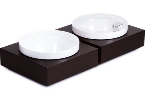 APS Black Buffet Melamine Plate and Bowl | 26,5x26,5cm