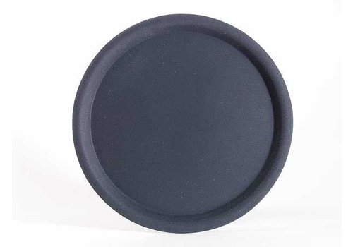 APS Antislip Tray Round Black 3 sizes