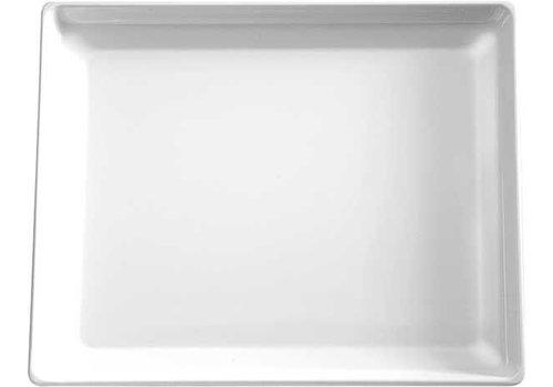 APS Weiß Melamin Schale | 32,5x26,5cm