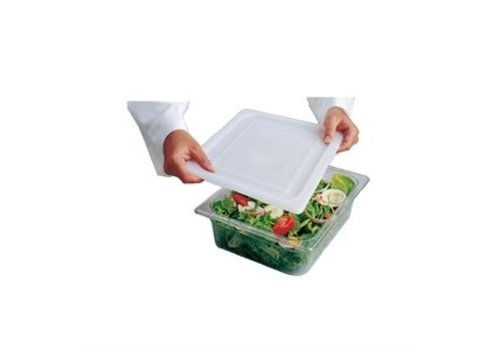 HorecaTraders Plastic GN flexible lid 1/2