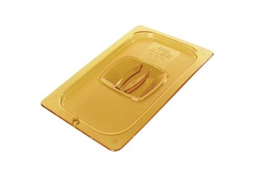 HorecaTraders Colored plastic lid 1/3