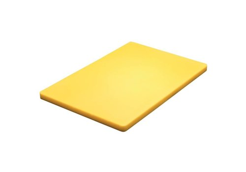 Hygiplas Cutting board plastic 45x30x2cm | 6 Colors