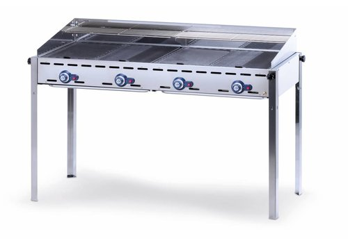 Hendi Professional gas barbecue with 4 burners