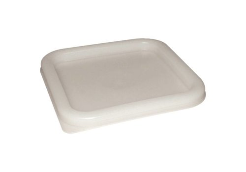 Olympia White Square Lid | 3 formats