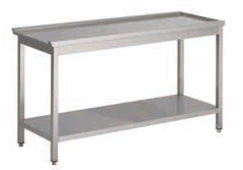 HorecaTraders Drain Table Links Professional | 5 Dimensions