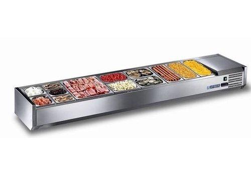 Afinox Statisch gekühltes Setup-Display Für 8x 1/3 GN oder 16x 1/6 GN