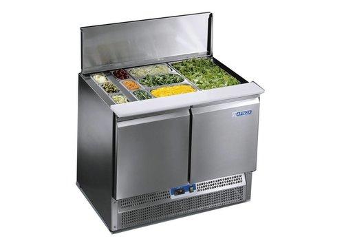 Afinox Saladette 2-door workbench   Premium Quality
